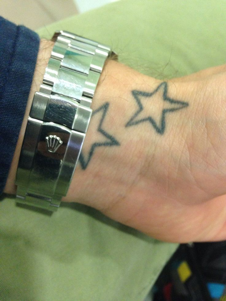 17 Best Ideas About Star Tattoo On Wrist On Pinterest Ideas And Designs
