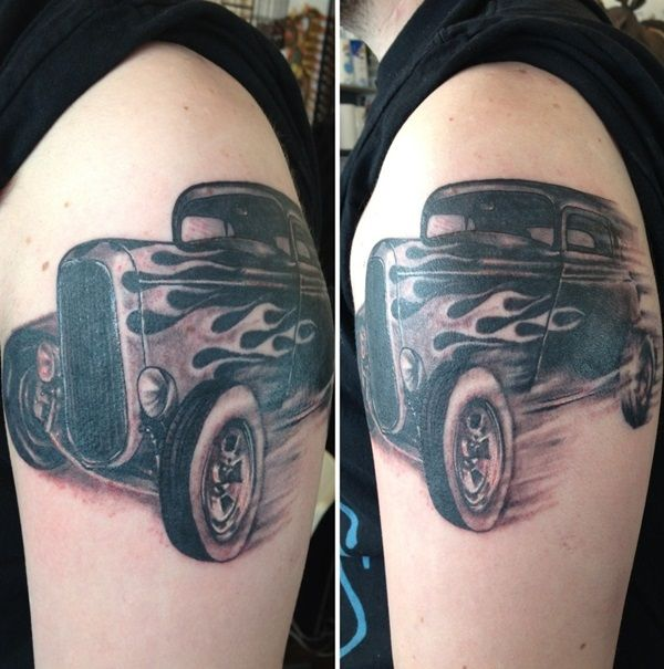 22 Best Images About Car Tattoo On Pinterest Ideas Ideas And Designs