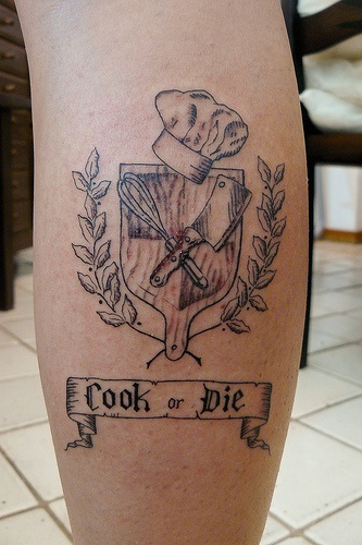 Best 25 Culinary Tattoos Ideas On Pinterest Ideas And Designs
