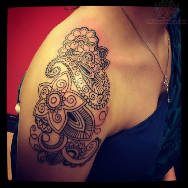 1000 Ideas About Girl Shoulder Tattoos On Pinterest Ideas And Designs