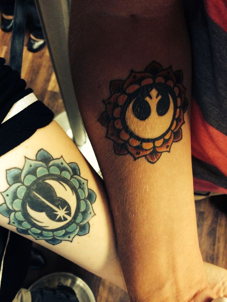 13 Star Wars Couples Tattoos That Is So Cool The Local Ideas And Designs