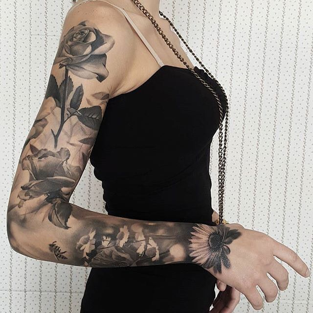1086 Best Images About Tattoo Sleeves For Women On Ideas And Designs