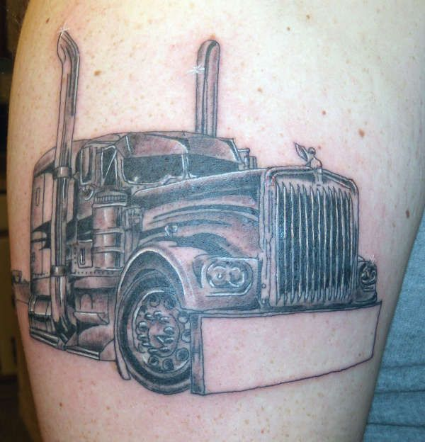 38 Best Images About Truck Tattoos On Pinterest Semi Ideas And Designs