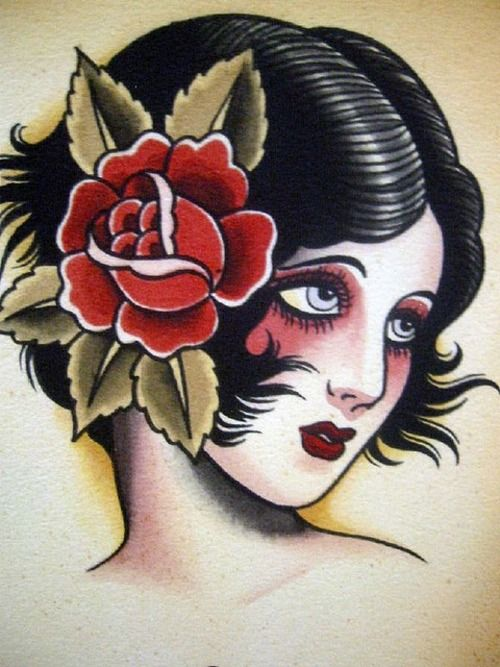 Original Tattoo Flash From The 1920 S Kysa Ink Design Ideas And Designs