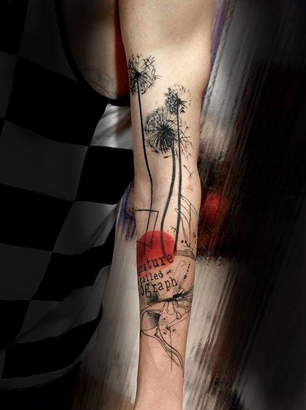 45 Dandelion Tattoo Designs For Women Tattoo Designs For Ideas And Designs