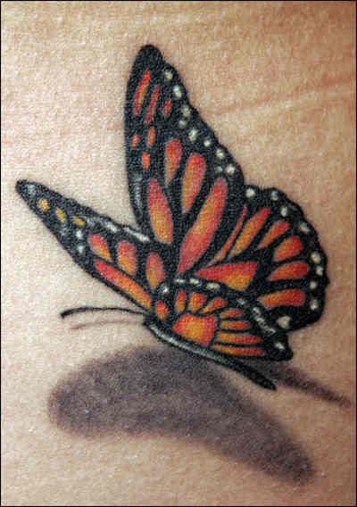 10 Images About Realistic 3D Butterfly Tattoos On Ideas And Designs