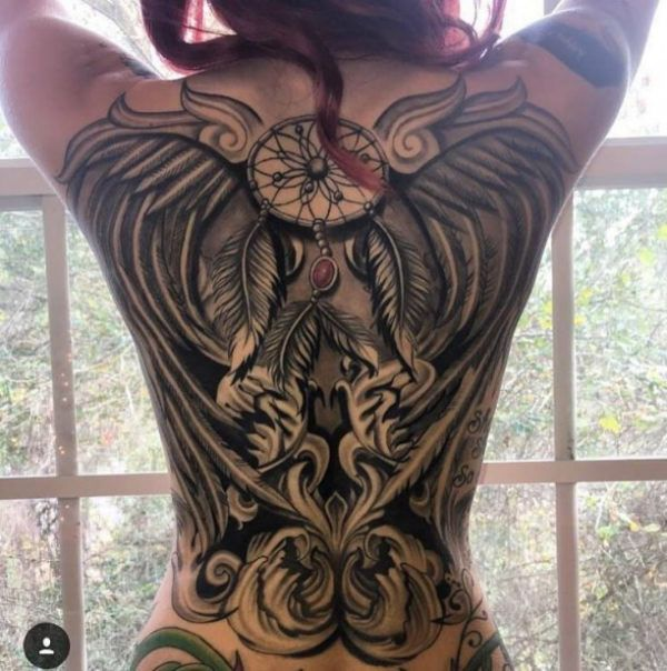 330 Best Images About Back Tattoos On Pinterest On Back Ideas And Designs