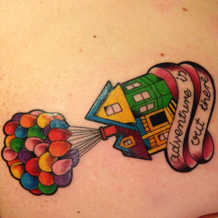 I Finally Got My Up Tattoo Adventure Is Out There Ideas And Designs
