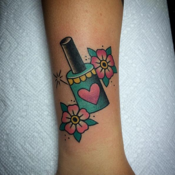 25 Best Ideas About Nail Polish Tattoo On Pinterest Ideas And Designs