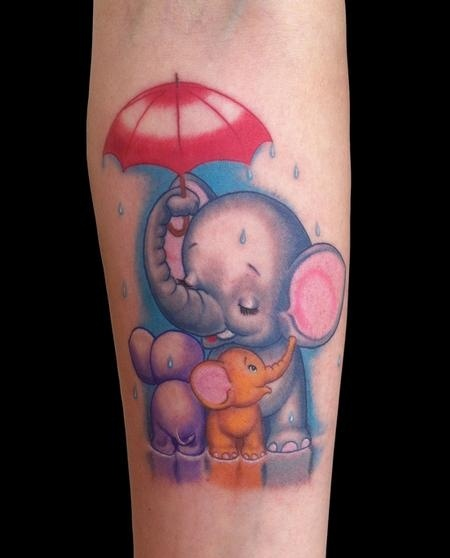 25 Best Ideas About Elephant Family Tattoo On Pinterest Ideas And Designs