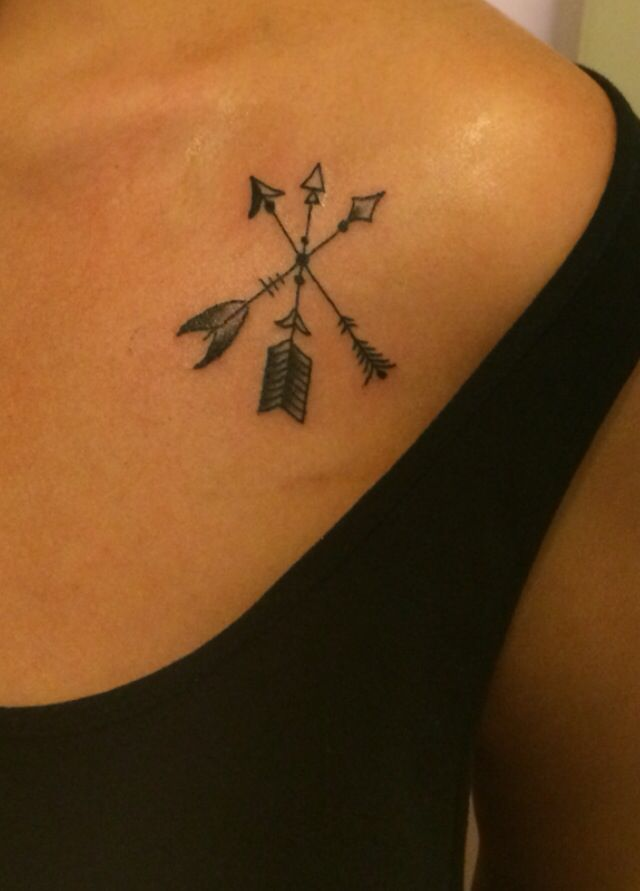 Sibling Tattoo Different Arrows Different Directions But Ideas And Designs
