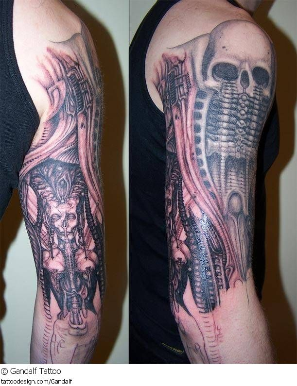144 Best Images About H R Giger Inspired Tattoos On Ideas And Designs