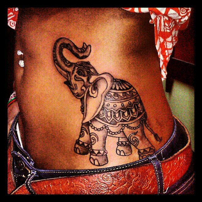 Latest 55 Elephant Tattoo Designs For Girls 2015 An Ideas And Designs