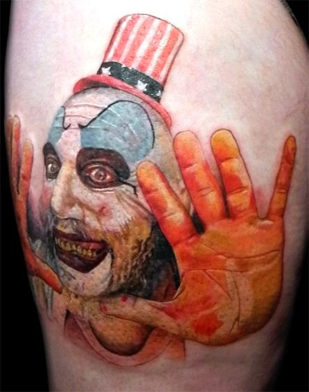 1000 Images About Captain Spaulding Tattoos On Pinterest Ideas And Designs