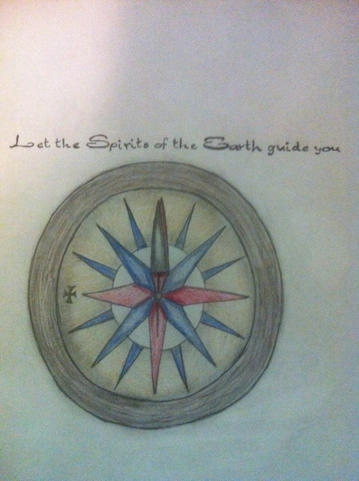 Pocahontas Compass Tattoo Request Drawn By Brittany Ideas And Designs