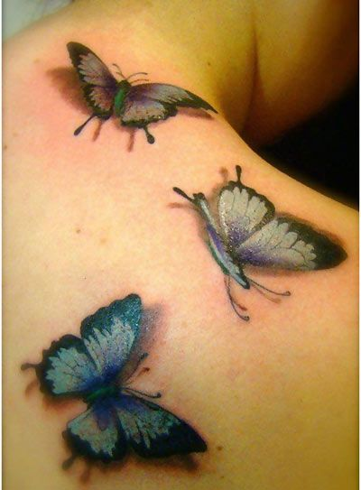 10 Gorgeous Butterfly Tattoo Designs Best 3D Tattoos Ideas And Designs