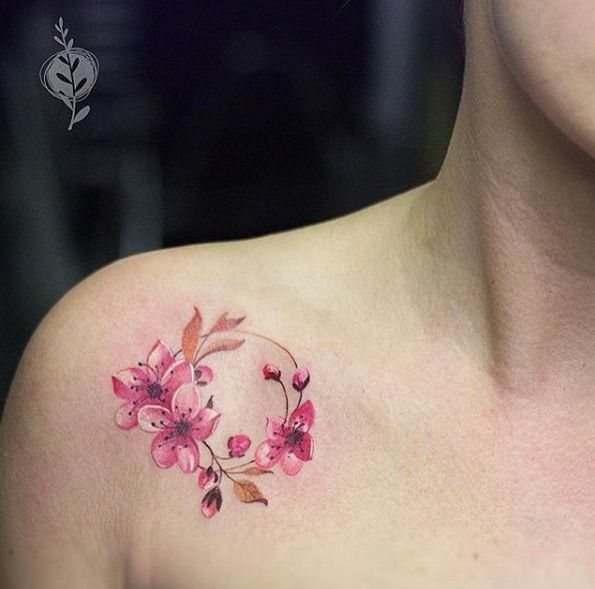 25 Best Ideas About Cherry Blossom Tattoos On Pinterest Ideas And Designs
