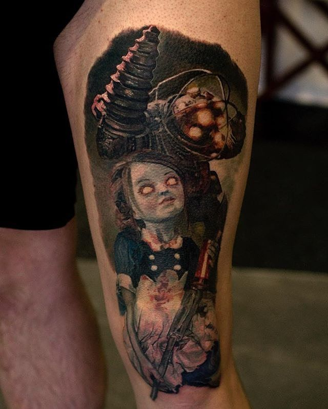 17 Best Ideas About Bioshock Tattoo On Pinterest Ideas And Designs