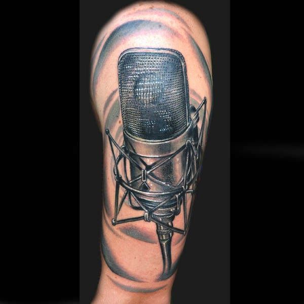 25 Best Ideas About Microphone Tattoo On Pinterest Mic Ideas And Designs
