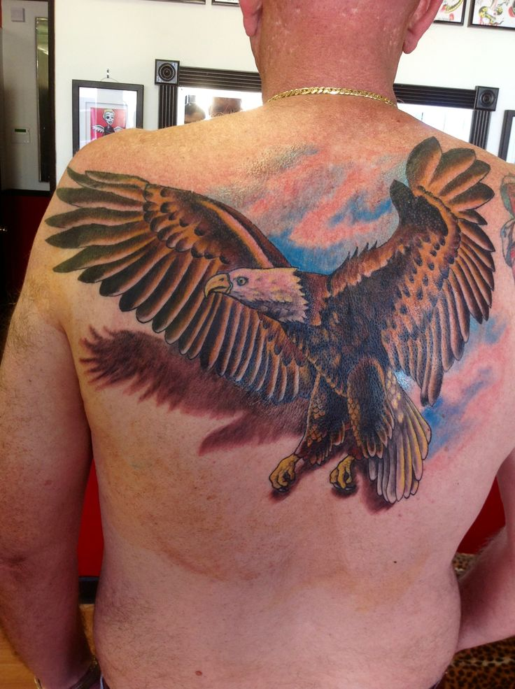 Eagle Tattoo Tattoos It S What I Do At Red Rabbit Ideas And Designs