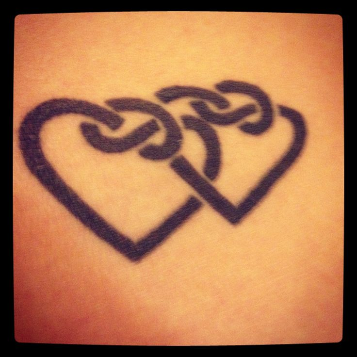 Celtic Hearts Tattoo But With Three Hearts Intertwined Ideas And Designs