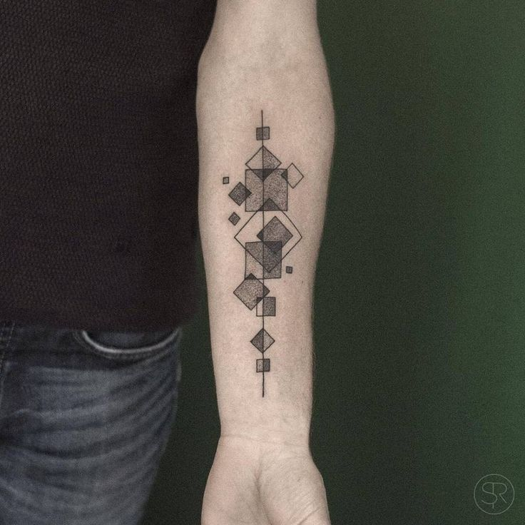 Best 25 Square Tattoo Ideas On Pinterest Ideas And Designs