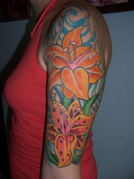 100 Beautiful Lily Tattoos And Meanings 2017 Collection Ideas And Designs