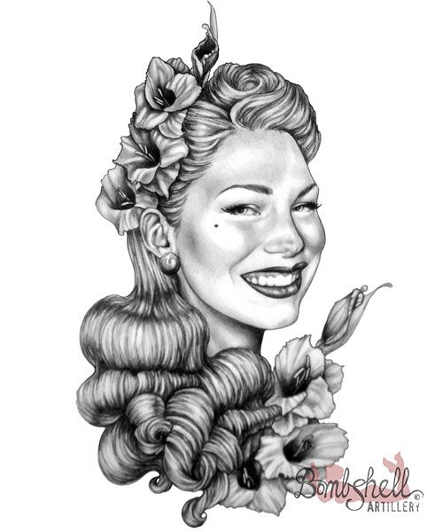 17 Best Images About Pin Ups By Bombshell Artillery On Ideas And Designs