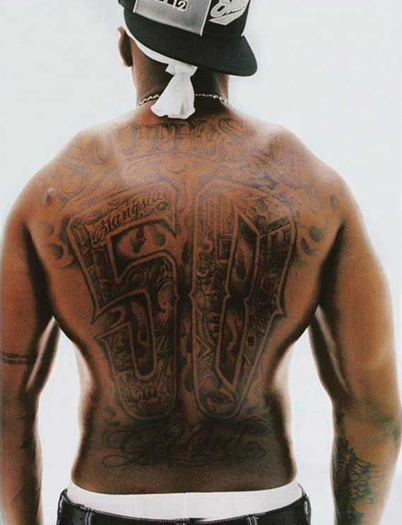 15 Best Images About 50 Cent Tattoos On Pinterest 50 Ideas And Designs