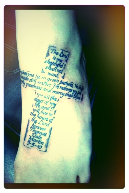 25 Best Ideas About Psalm 23 Tattoo On Pinterest Ideas And Designs