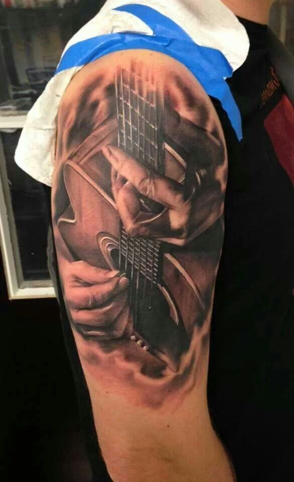 1000 Images About Guitar Tattoos On Pinterest Tattoo Ideas And Designs
