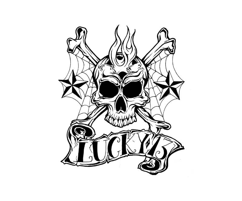 First Tattoo Lucky 13 Tattoo Designs Ideas On Pinterest Ideas And Designs