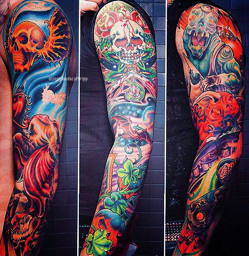 Tattoo S And Piercings Guitar Sleeve Ideas Pinterest Ideas And Designs