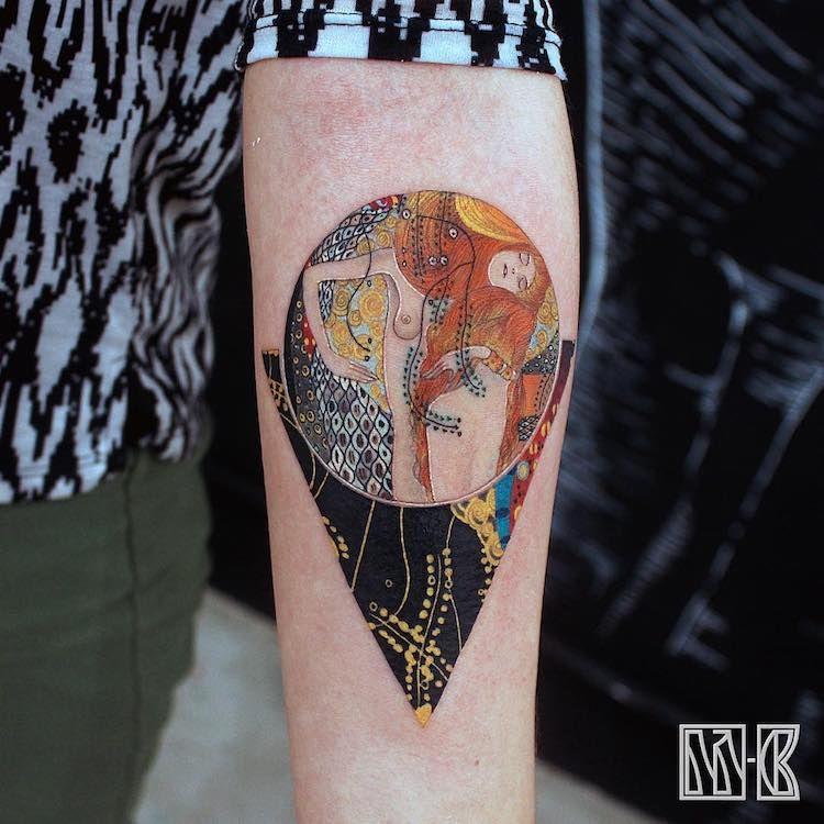 29 Museum Worthy Tattoos Inspired By Art History Modern Ideas And Designs