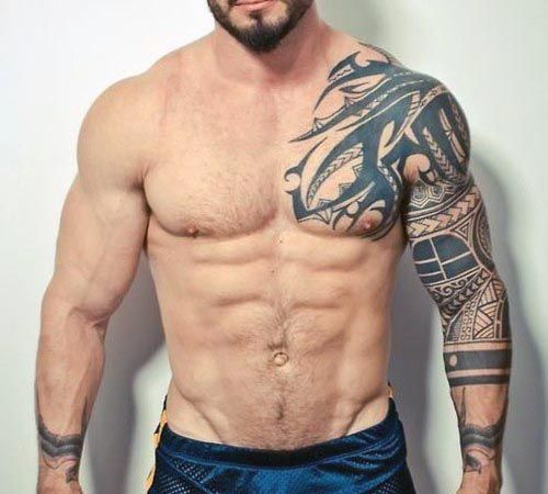 Tribal Sleeve Tattoos For Men Tattoos Pinterest Ideas And Designs