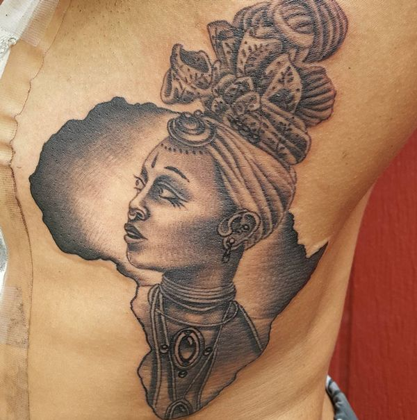Image Result For African Woman Tattoo Tats Pinterest Ideas And Designs