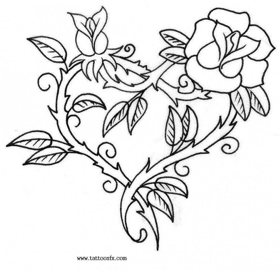 Free Printable Floral Tattoo Designs Tattoo Flash Free Ideas And Designs