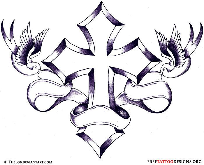 50 Cross Tattoos Tattoo Designs Of Holy Christian Ideas And Designs