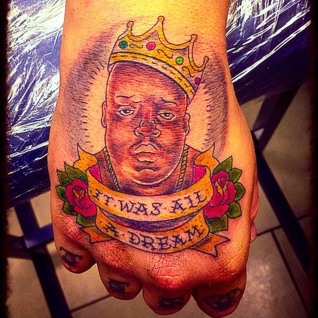 My Notorious Big Biggie Smalls Christopher Wallace Tattoo Ideas And Designs