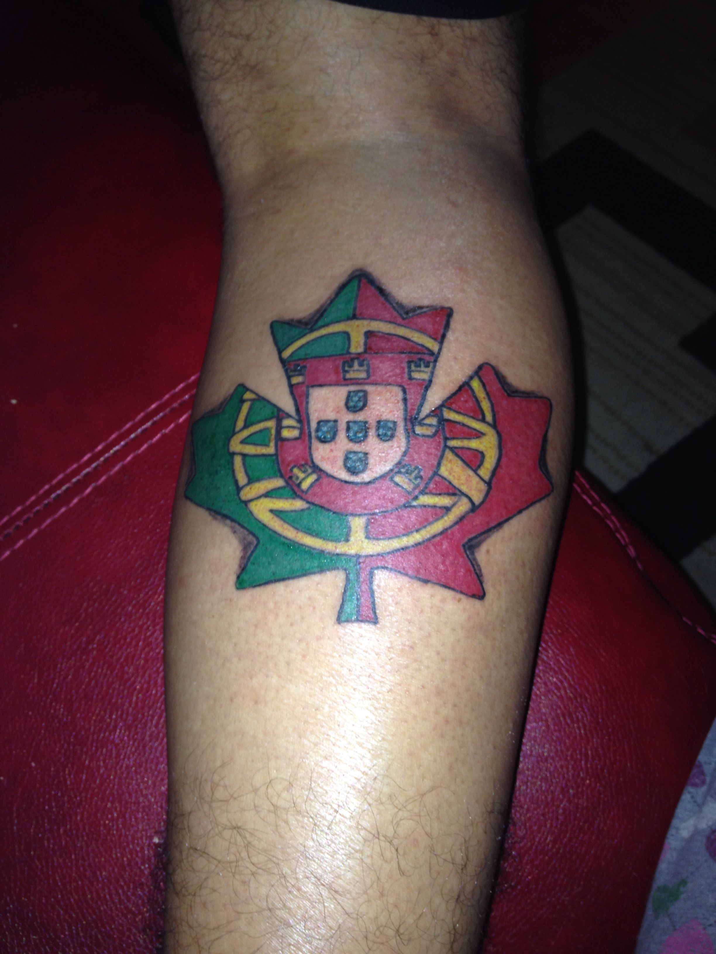 Portugese Canadian Tattoo I Love This Tattoos Ideas And Designs