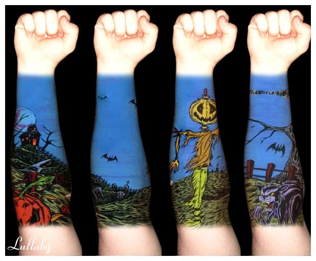 Halloween Tattoo Actually That S The Album Artwork For Ideas And Designs