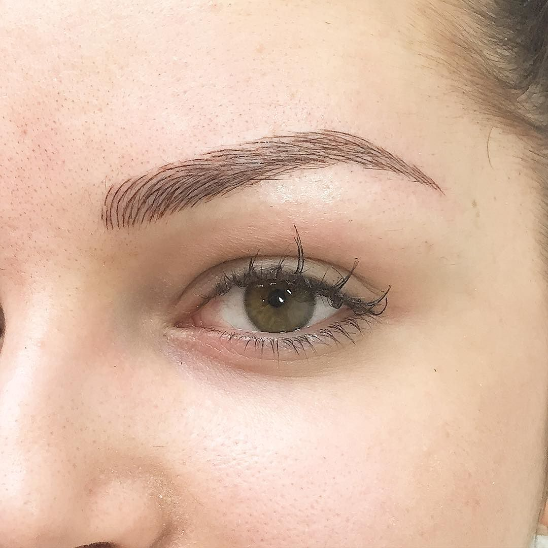 Eyebrows Tattoo Done By Me Microblading Master Phibrows Ideas And Designs