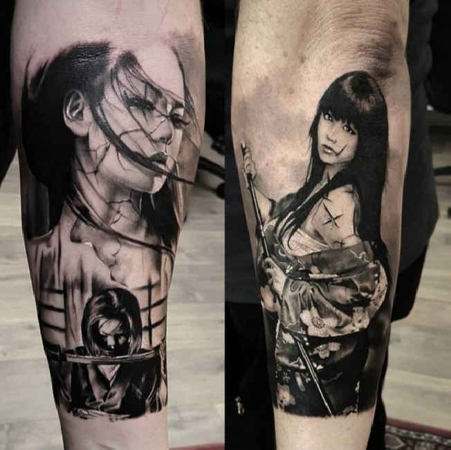 Tattoo Japanese Fighter Tattoo Tattooed Tattoos Ideas And Designs