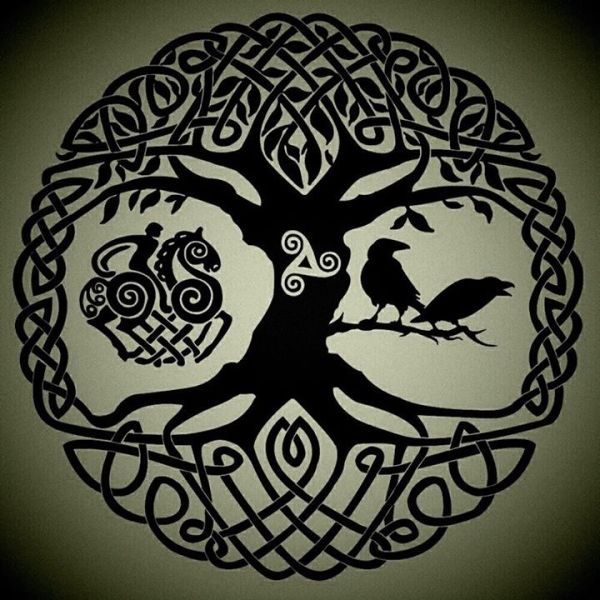 This Would Make A Great Tattoo Yggdrasil The World Ideas And Designs