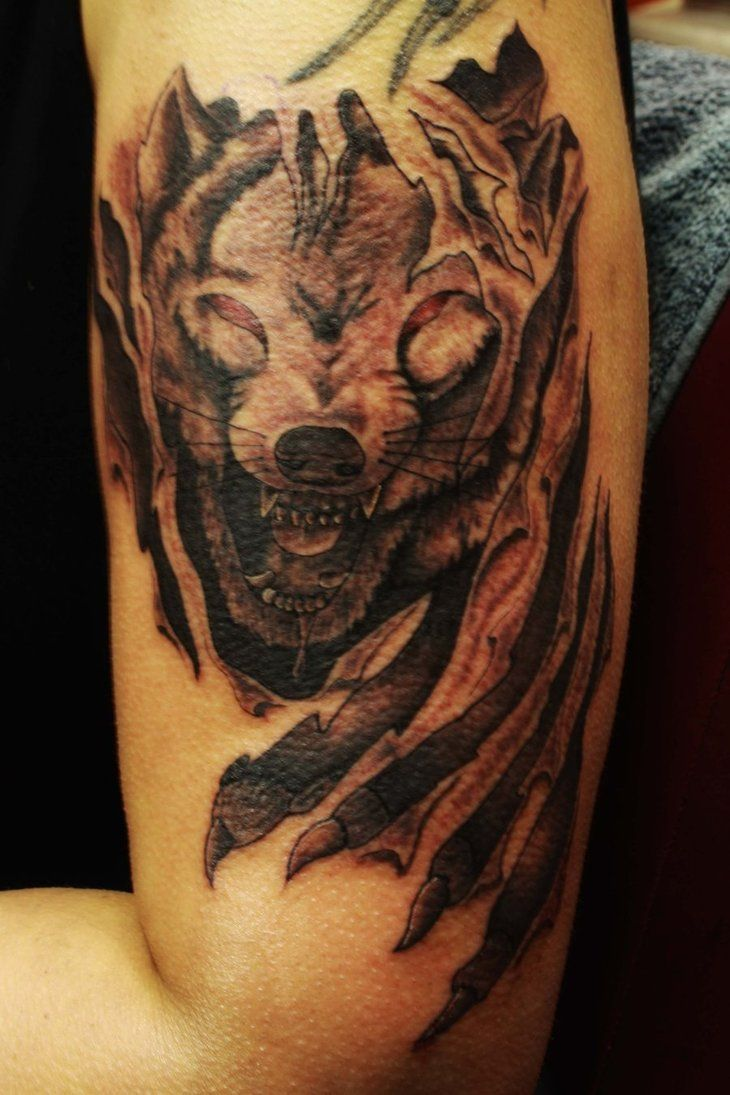 Wolf Art Ladies Tattoo 3D Tattoodesign Pinterest Ideas And Designs
