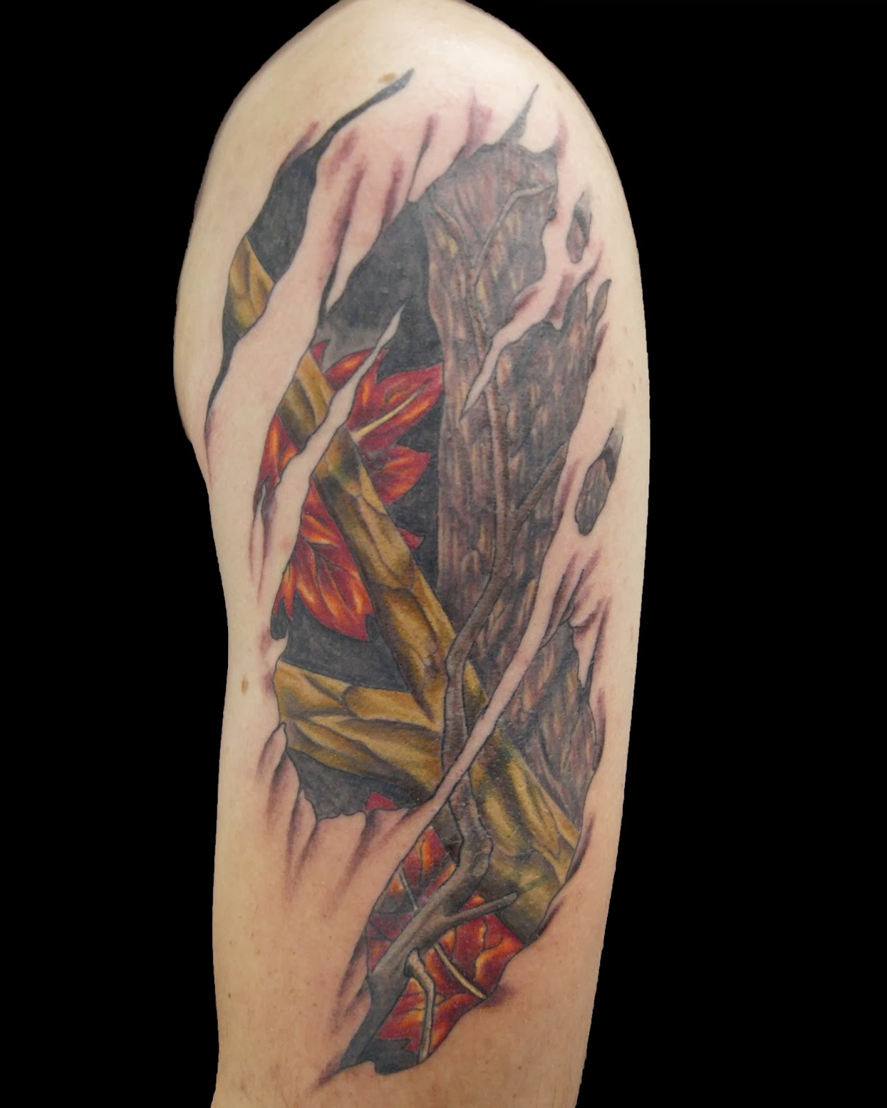 Camouflage Tattoos Ideas And Designs