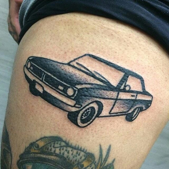 18 Car Tattoos Designs For That Need For Speed Itch Tattoodo Ideas And Designs