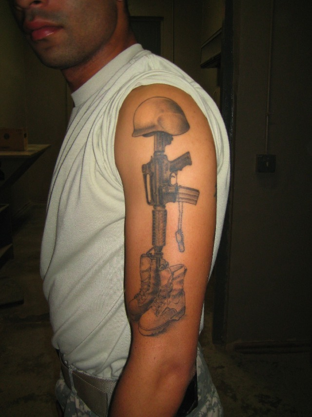 The Ink Of War Afghanistan Air Base's Best Tattoos Wired Ideas And Designs