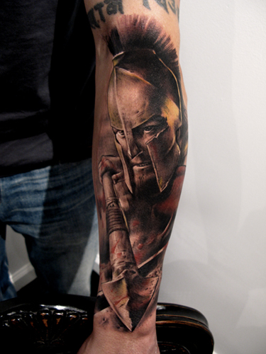 Movie 300 Tattoo On Arm Ideas And Designs