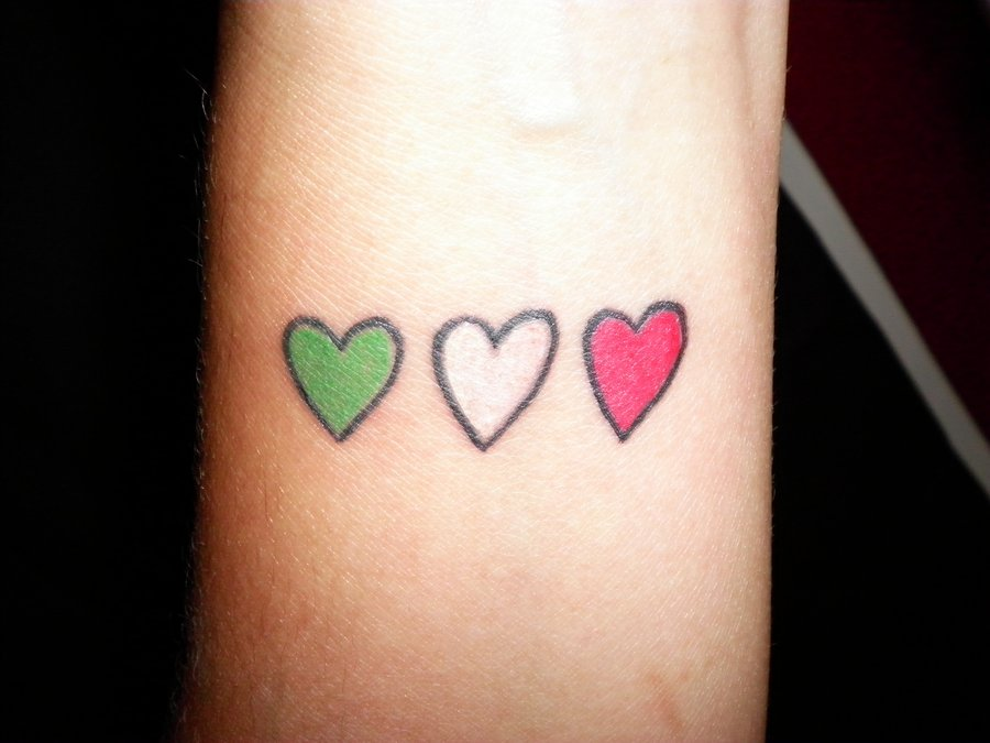 24 Cute Heart Tattoos On Foot Ideas And Designs